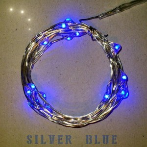 Blue Led Battery Lights