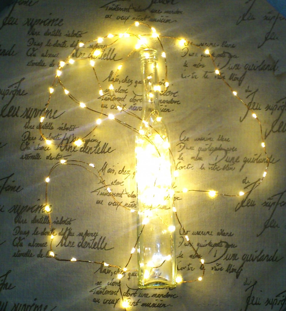 Making a Lamp with Qualizzi Starry Lights - Qualizzi Starry and ...