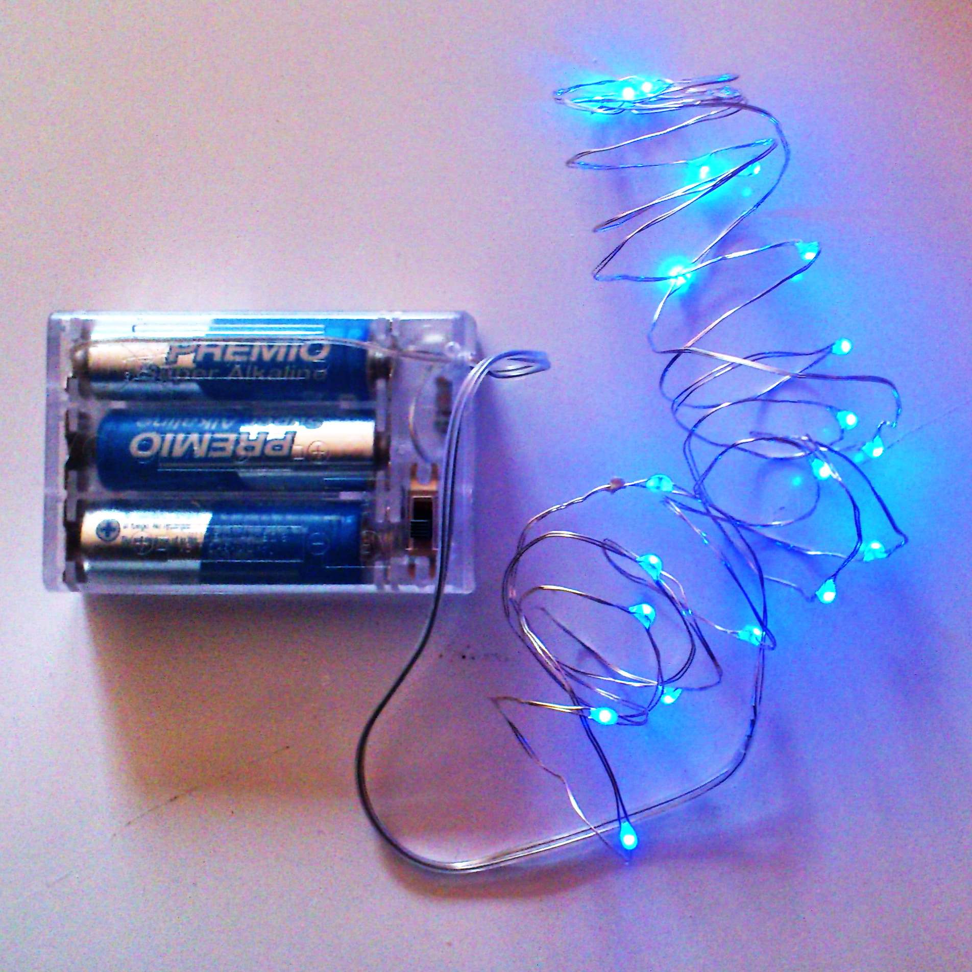 Blue Fairy Lights Qualizzi Starry And